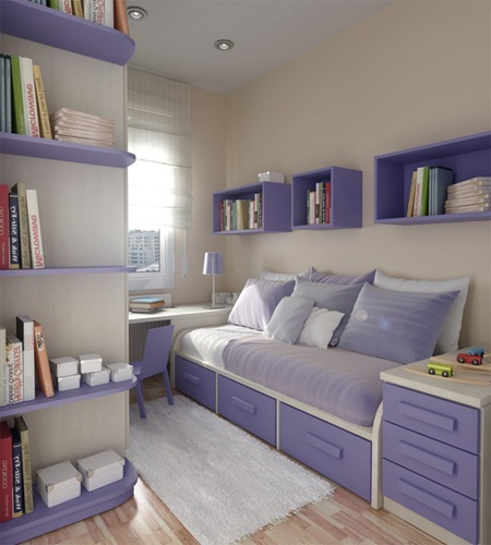 Camas con cajones que ahorran espacio drawer bed by - Habitaciones infantiles dobles poco espacio ...