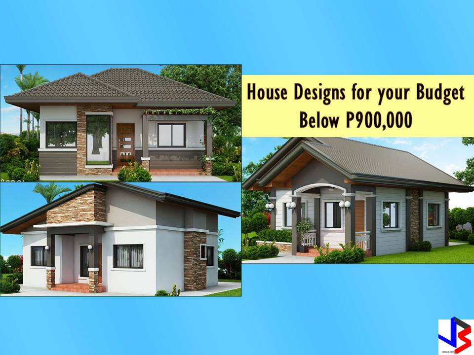 The following are three beautiful small house design everyone can have with a budget not more than P1 million pesos ($19,000). These are project designs of cool house concept and perfect houses for small families or families with a limited budget. The first two houses are designed with two bathrooms while the last one has three bedrooms including the master bedroom. Check the specification below. Prices or cost are included based on estimates of the builder.