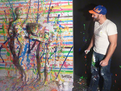 Flesh and Acrylic Abstract Art by Ben Heine - Плоть и акрил Бен Хайне - Body Painting - Russia