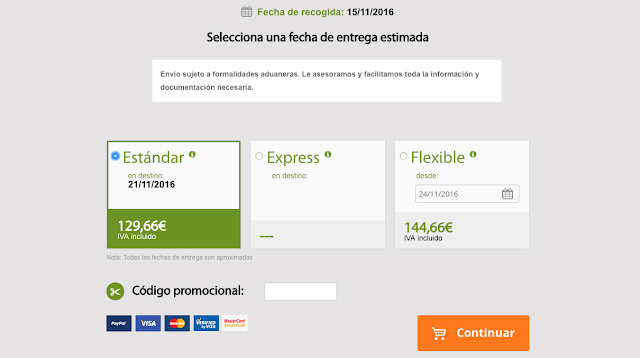 Captura de Pantalla de Sinmaletas.com Ejemplo
