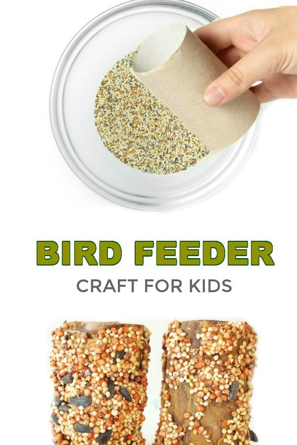 KID-MADE BIRD FEEDERS (Spring craft) #birdfeeders #birds #birdfeedersdiy #birdfeedersforkidstomake #birdfeedershomemade #springcraftsforkids