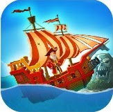 Pirate Ship Shooting Race App