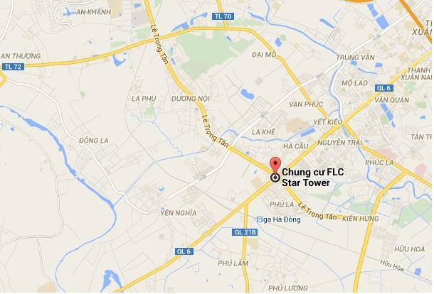 Vị trí dự án FLC STAR TOWER