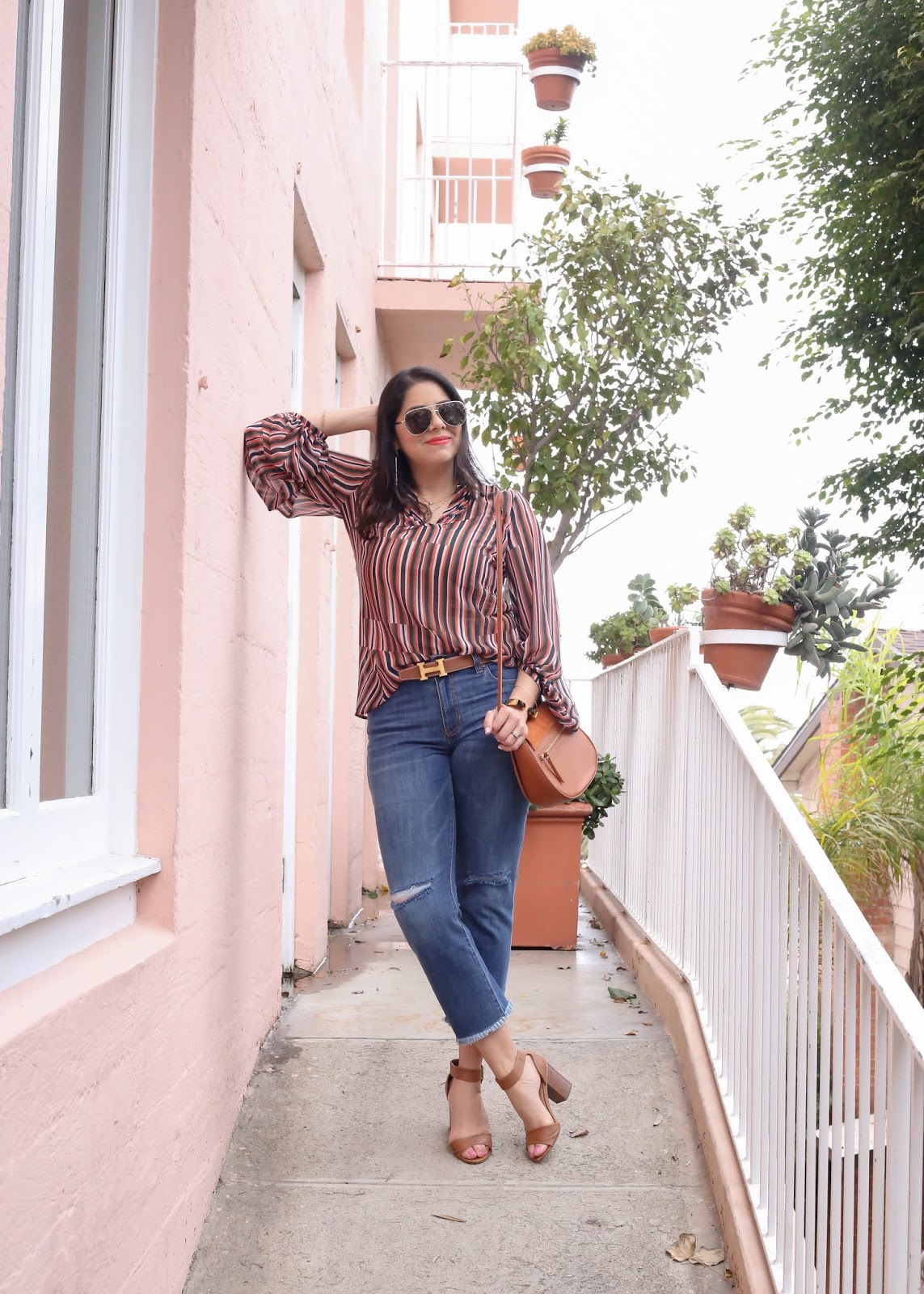 Spring casual yet glam outfit, san diego fashion blogger style