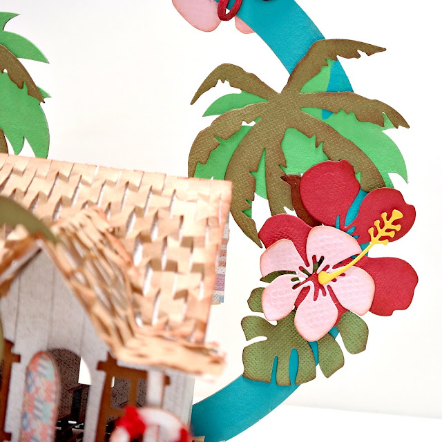 Summer Loving Beach Life Beach House Tropical Die-Cuts by Dana Tatar for FabScraps