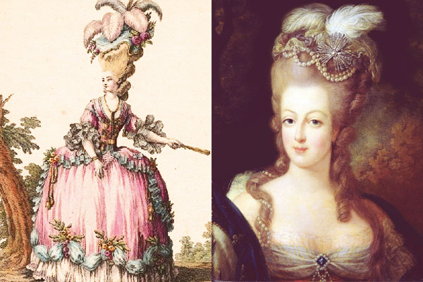 monarchy of style marie antoinette