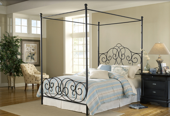 Simple Four Poster Canopy Beds 8