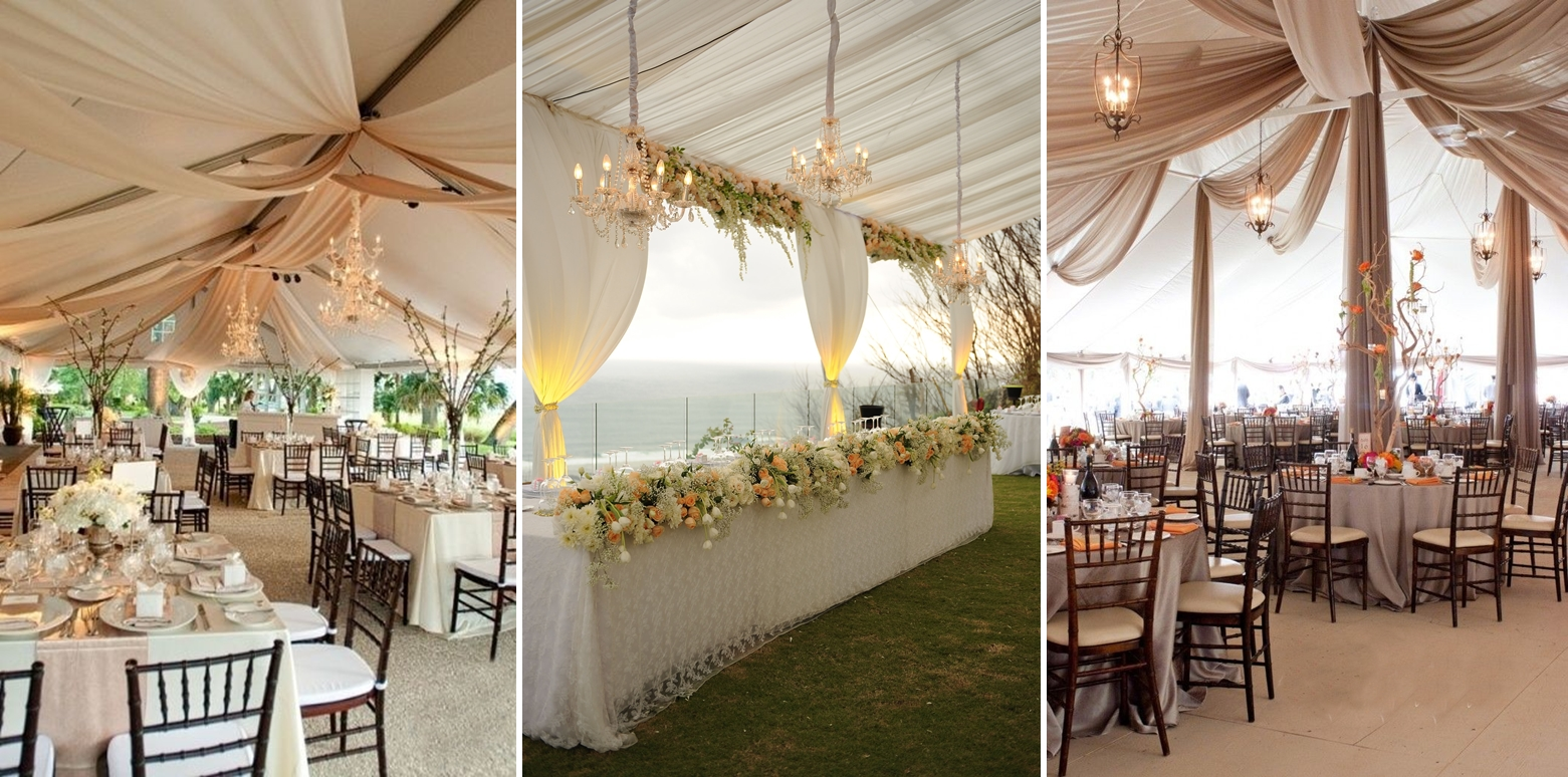 decorating a wedding tent wedding tent decoration steve s decor 3358