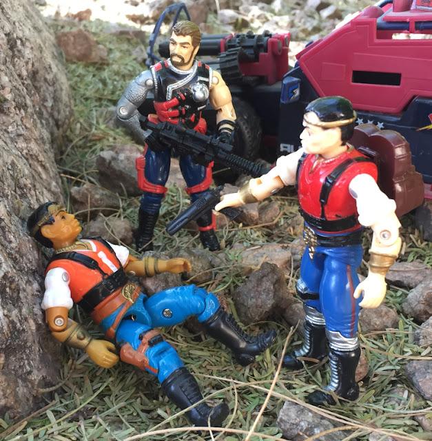 1987 Red Dog, Funskool Red Dog, 2001, 1991 Mercer, Sgt. Slaughters Renegades, Dreadnok Thunder Machine, 1986