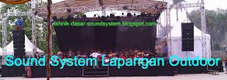Sound-System-Lapangan