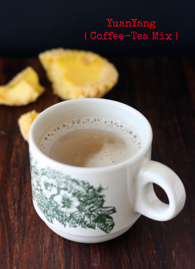 Yuanyang coffee tea mix by SeasonWithSpice.com