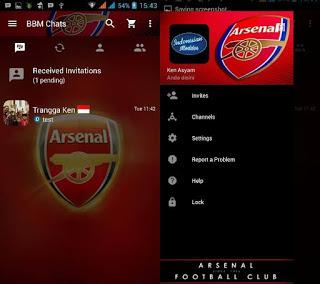 Download BBM Mod Tema Arsenal v3.2.5.12 Terbaru