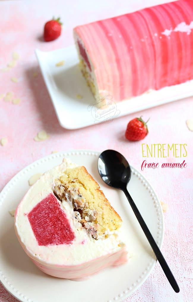 buche noel fraise