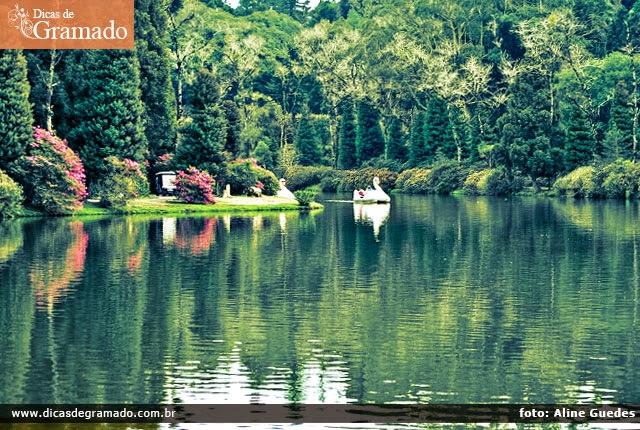 Visite o Lago Negro pela manhã
