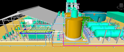 3D drawing of Reverse Osmosis Plant Design