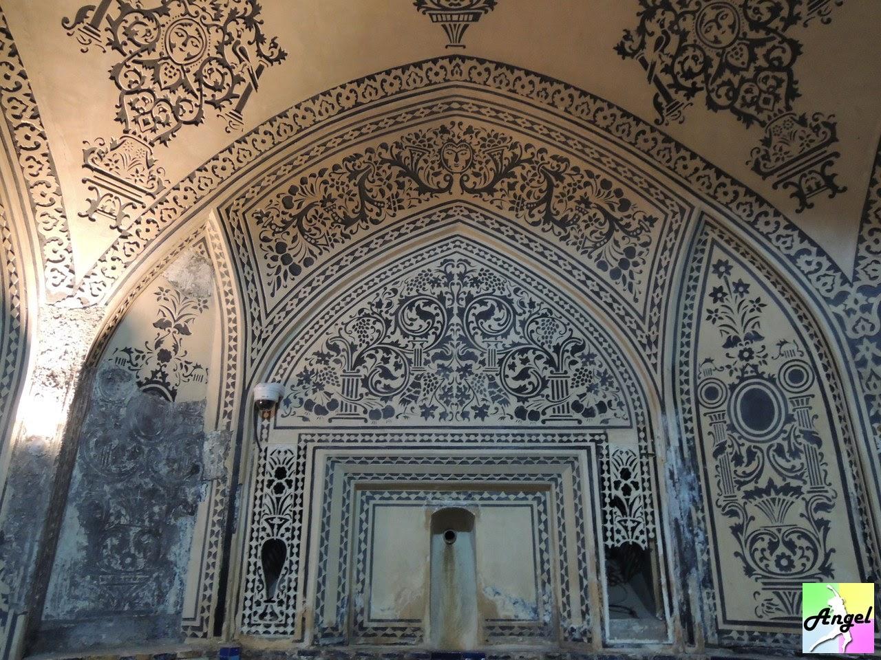 amir ahmad bathhouse inside kashan iran