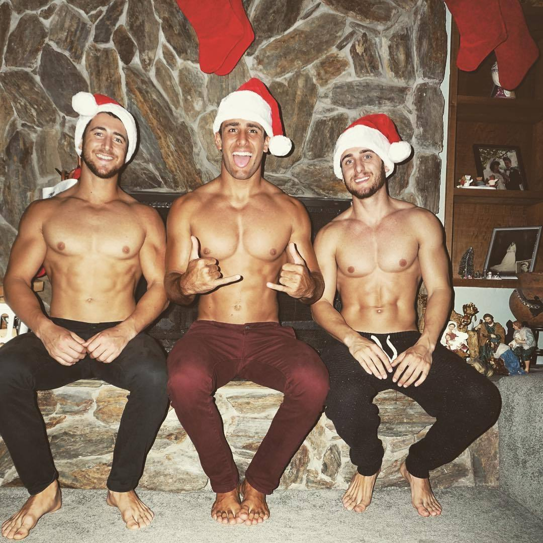 hot-gay-christmas-threesome