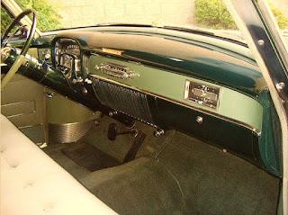 1953 Cadillac Coupe DeVille Interior Cabin