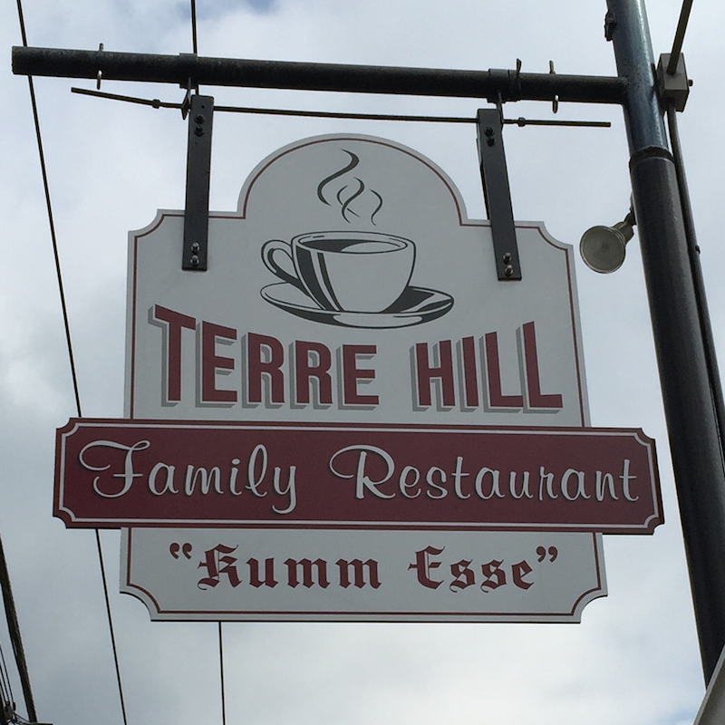 """Come Eat"" at Terre Hill Family Restaurant in Lancaster County"
