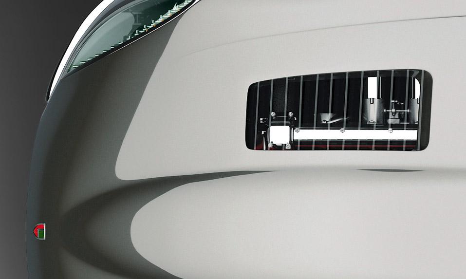 Mirror Finish Sports Car Lamborgini