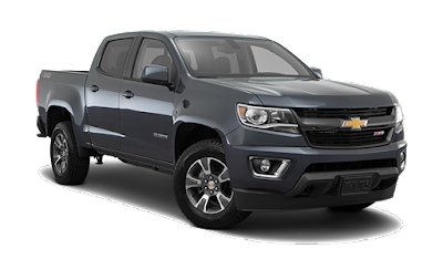 Chevrolet Colorado right side view