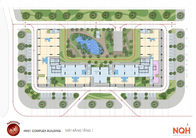 Quy hoạch dự án chung cư Anland.