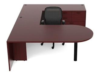 amber u desk