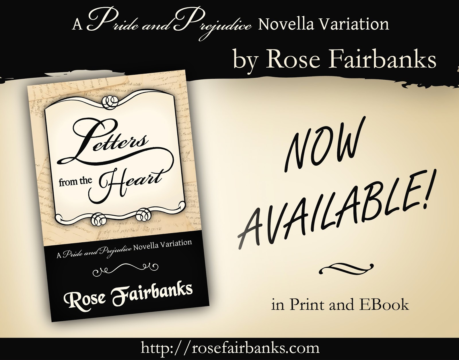 Now available - Letters from the Heart by Rose Fairbanks