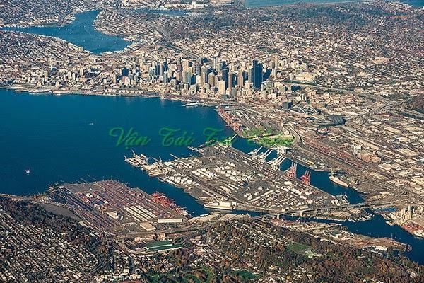 Cảng Seattle Bắc Mỹ Hoa Kỳ