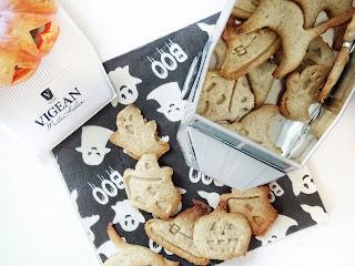 Biscuits sablés sans gluten & sans lactose d'Halloween