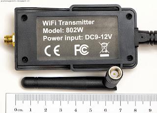oneConcept RV1, trasmettitore