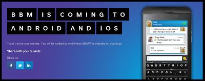 """En los últimos meses hemos estado escuchando mucho acerca de que BBM vendrá a iOS y Android esta semana, y fue sólo cuestión de tiempo antes de que las aplicaciones falsas se comenzaran a difundir. Una aplicación falsa de BBM para Android fue encontrada el día de hoy en la Play Store. Google ya la ha retirado de su tienda, pero anteriormente cuando estaba disponible engaño a miles de usuarios en la descarga. Más de 100.000 usuarios de Android han descargado la aplicación, lo cual no hizo más que mostrar una pantalla de """"Coming Soon"""" con la posible fecha de"""