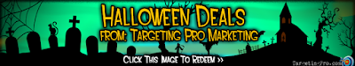 Halloween Deals Discounts and Specials - Targeting Pro Marketing