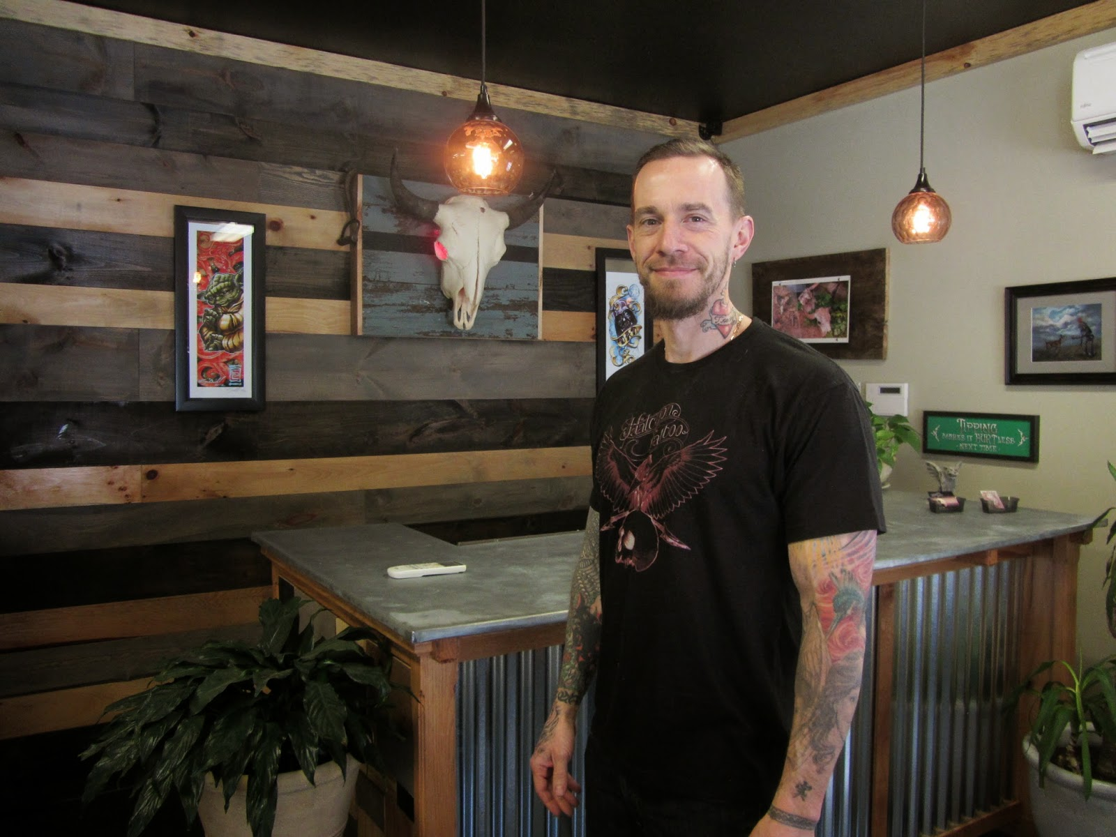 The Windham Eagle Business Business Spotlight Halcyon Tattoo By