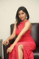 Sakshi Kakkar in Red Legsplit Sleeveless Gown at Dare movie Press meet ~  Exclusive 035.JPG