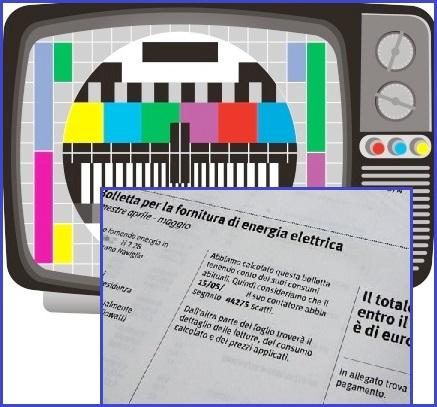 Pagamento canone rai istruzioni per casi particolari for Canone tv in bolletta