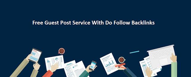 Free Do follow guest post website