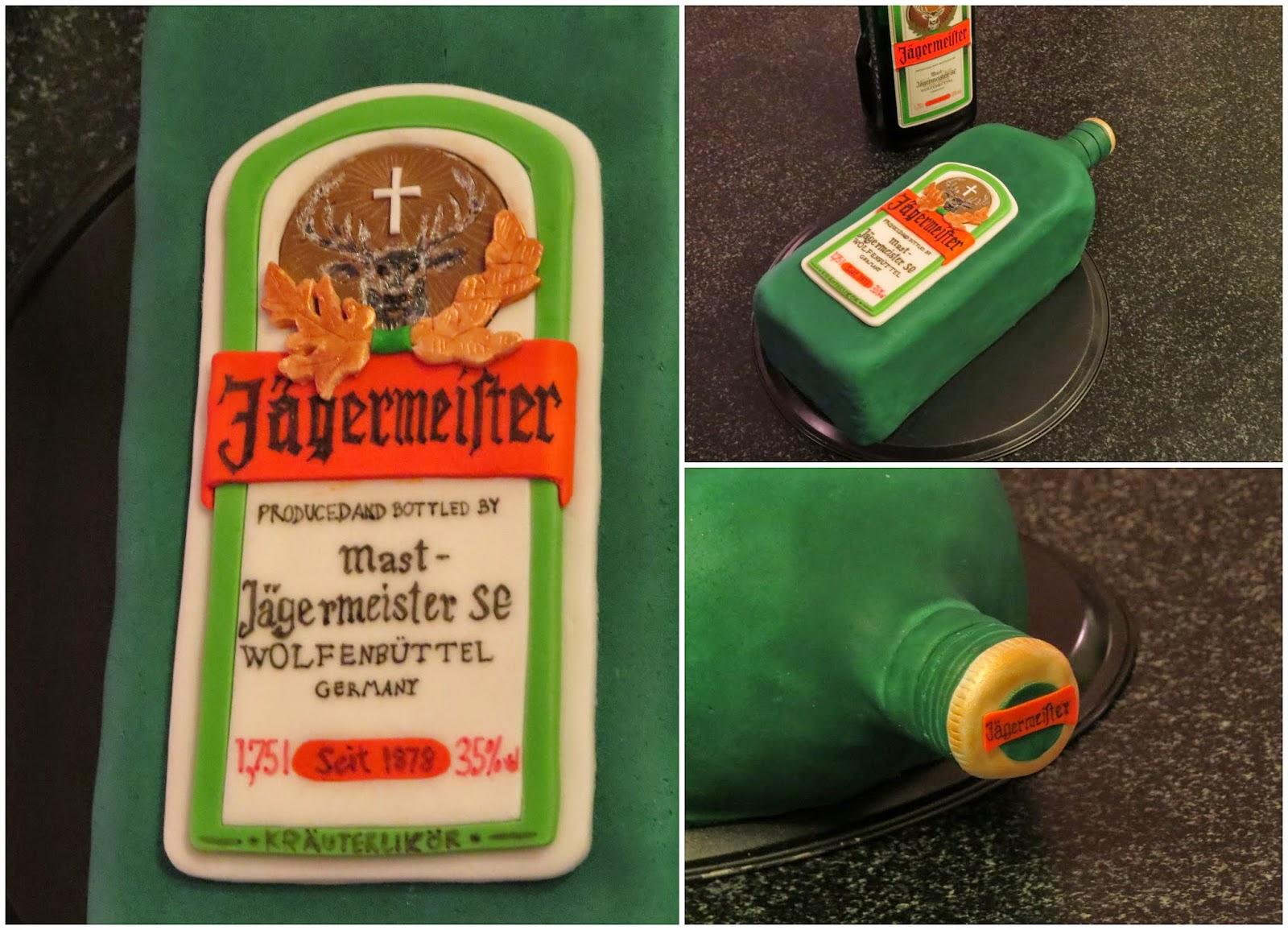 Jägermeisterflasche