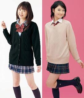 Seragam Sekolah Pelajar Siswi di Jepang