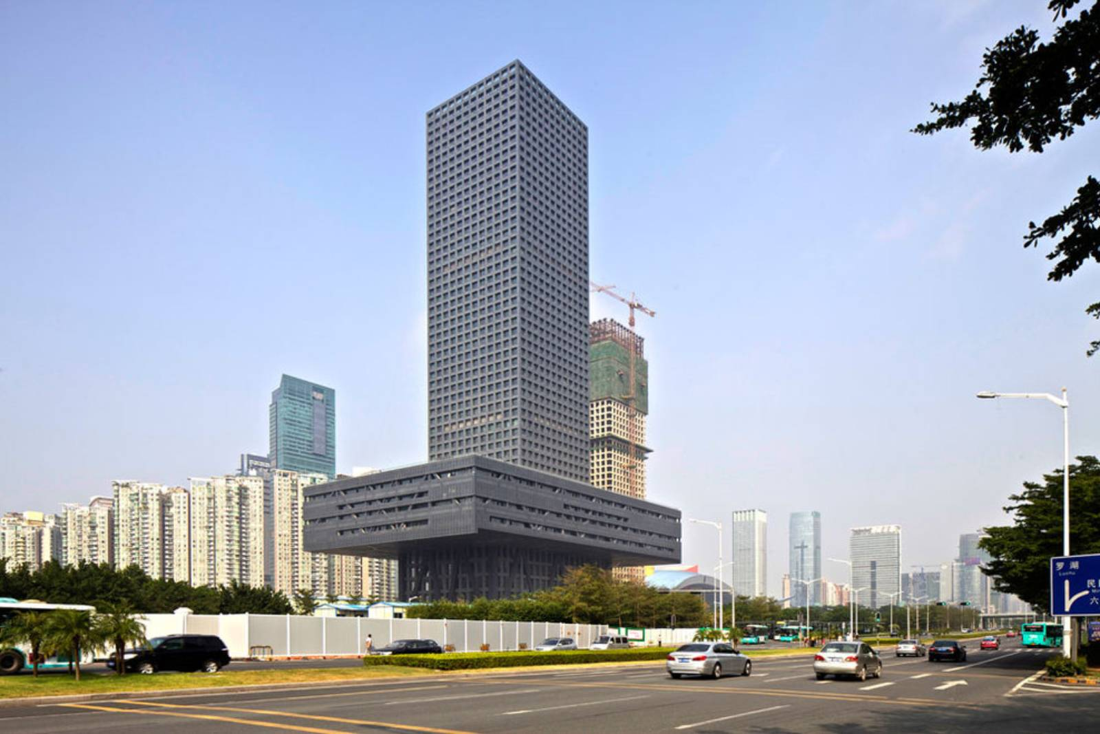 Shenzhen Stock Exchange Building By Oma A As Architecture