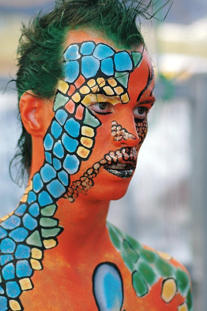 Австралийский бодиарт карнавал 30