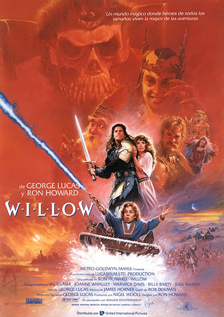 Póster película Willow
