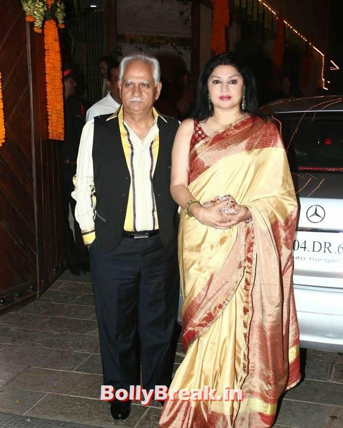 Ramesh Sippy, Kiran Juneja, Photos from Amitabh Bachchan's Diwali Bash 2014