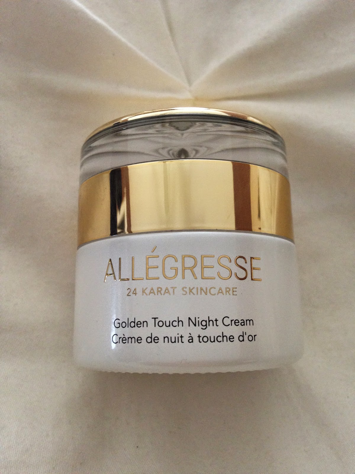 Michele1218 Allegresse 24k Gold Golden Touch Night Cream