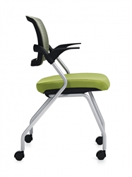 Flip Seat Nesting Chair for Boardroom Use