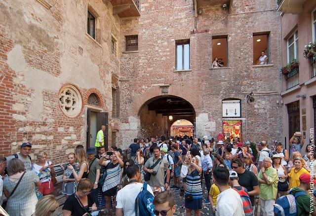 Visitar Casa Julieta Verona viaje 15 días norte Italia