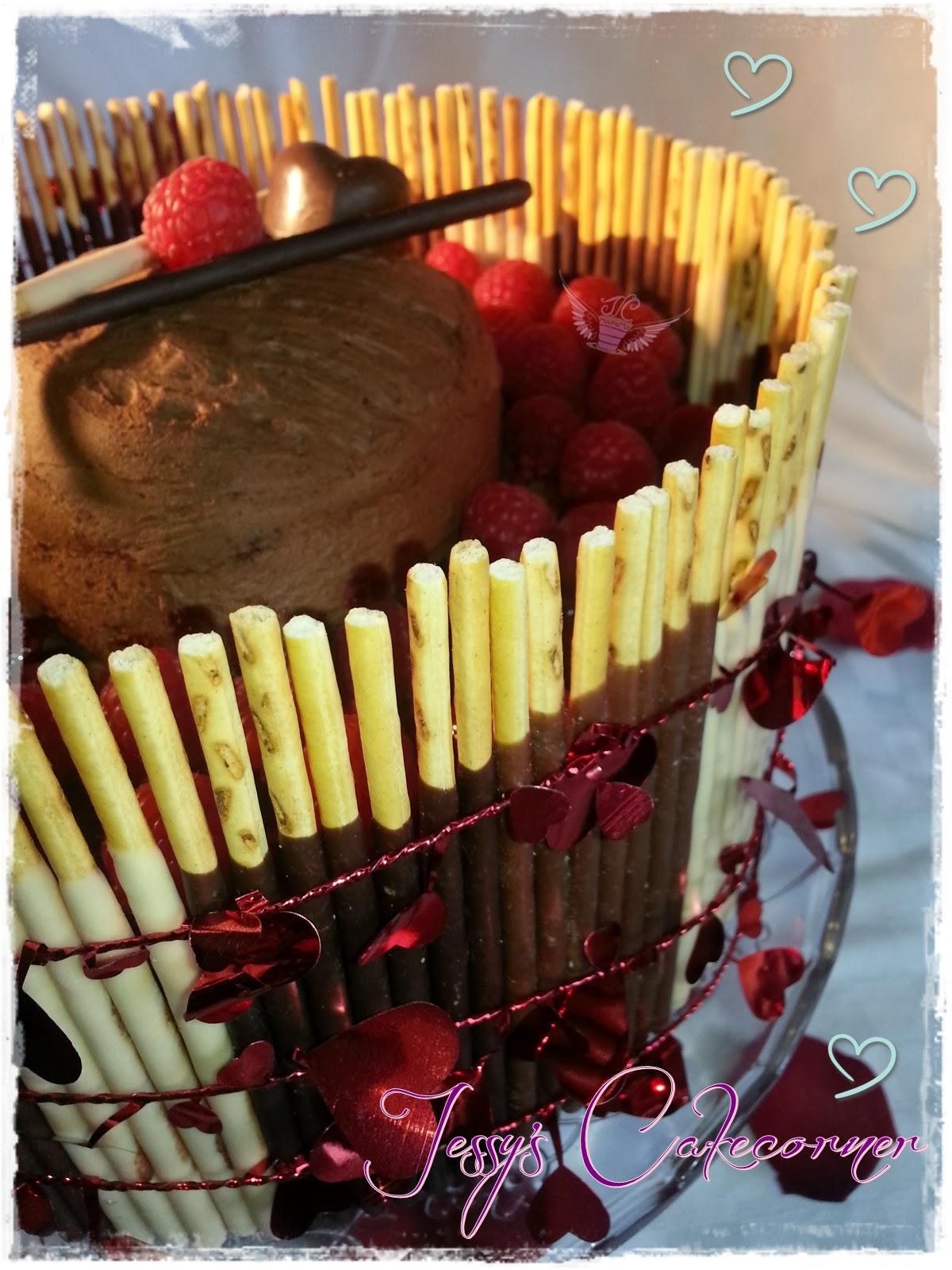jessy 39 s cakecorner valentinstagstorte. Black Bedroom Furniture Sets. Home Design Ideas