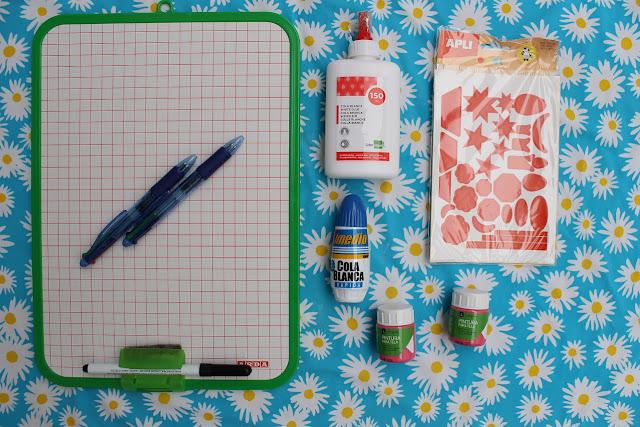 material escolar para blog