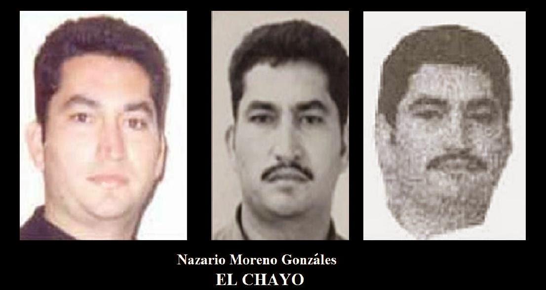 """Difunden expediente forense de """"El Chayo"""" líder de los Caballeros Templarios"""