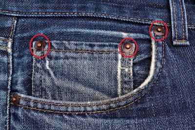 Fungsi Butang Tembaga Pada Seluar Jeans Yang Bukannya Hiasan Semata-mata